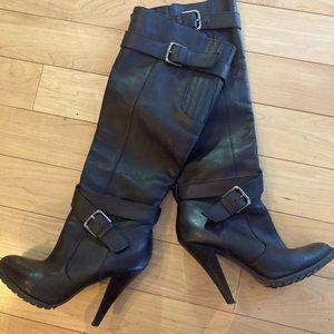ALDO leather black boots